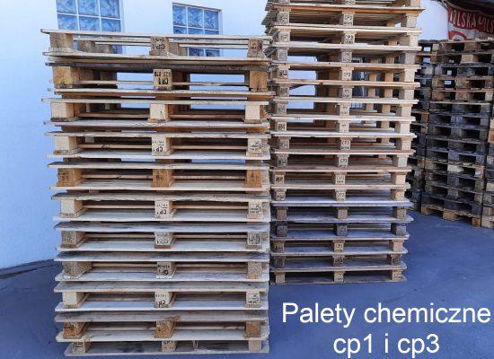 Palety chemiczne cp1 i cp3-biały